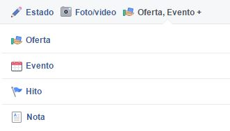 como crear un evento en Facebook