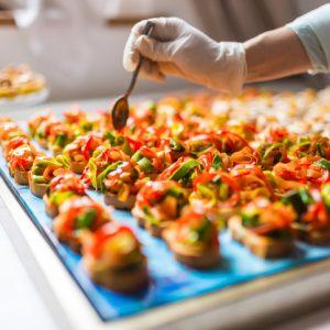 El catering: eventos únicos gracias al menú